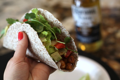Chickpea Taco | by Krystaslifeinfood.com