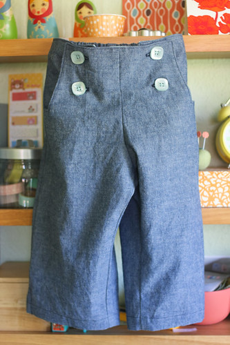 chambray sailboat pants for kcwc | by supergail