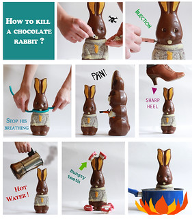 How to kill a chocolate rabbit? | by Léontine Soulier