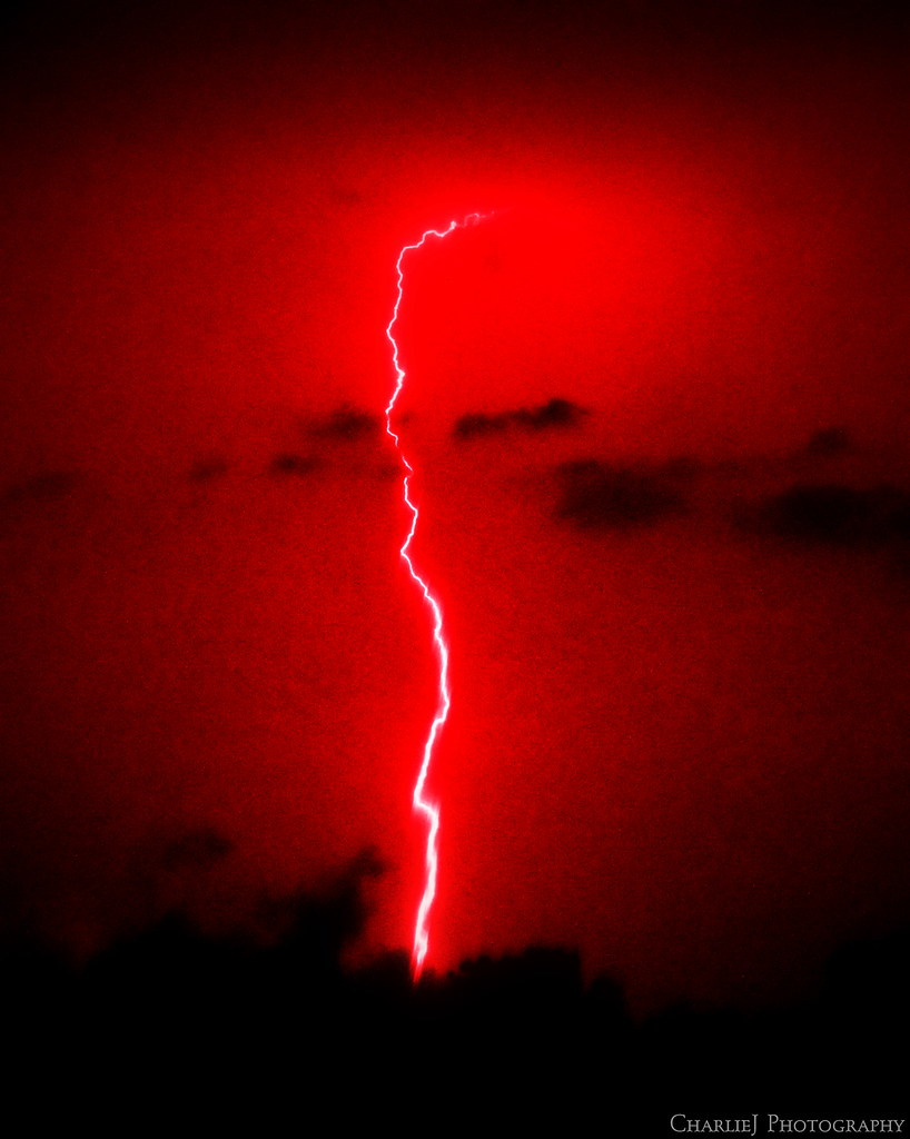Real Lightning Strike