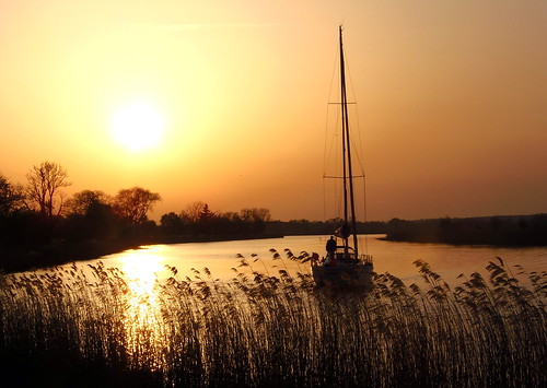 Sunset with sailing-boat (03.05.2012 , Explore # 75) | by swetlanahasenjäger