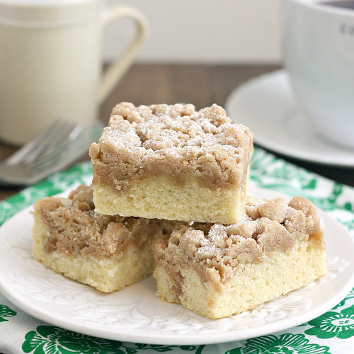 New York-Style Crumb Cake | by Tracey's Culinary Adventures