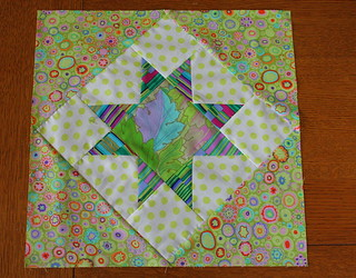 Finished 14 inch block  Block | by Quiltsalad
