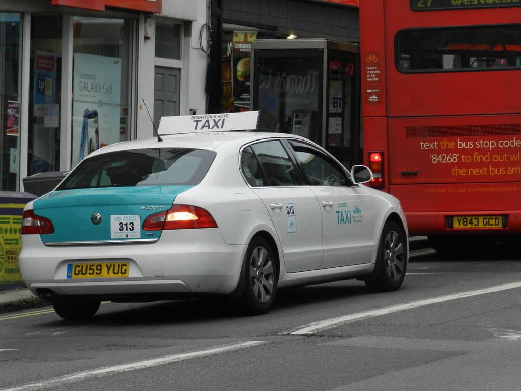 Brighton Hove Taxi Skoda Superb Gu59 Yug 2009 Skoda Flickr