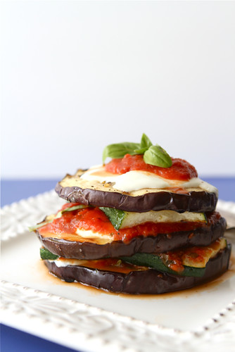 Grilled Zucchini & Eggplant Parmesan Recipe {Vegetarian ...
