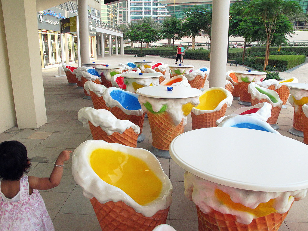 ... Ice Cream Cone Chairs And Tables | By Ganobristol