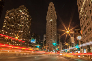 Flatiron at Night | by pamhule