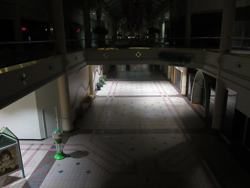 The Hunger Games Opening: Deserted Charlestowne Mall | by danxoneil