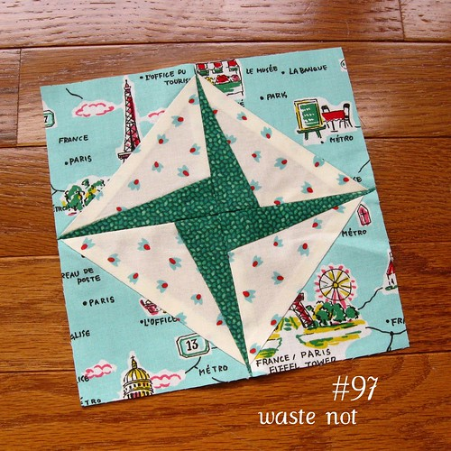farmer's wife sampler, block 97 | by quirky granola girl