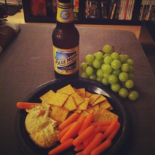 What dinner looks like when Jason goes out of town. | by Meagan Fisher