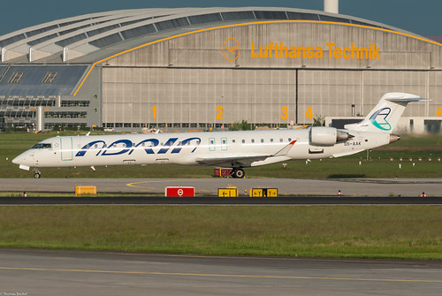 Adria Airways Bombardier Canadair Regional Jet CRJ-900 S5-AAK (81371) | by Thomas Becker