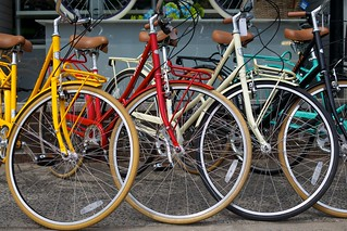 Bicycles on Queen Street | by mcdux
