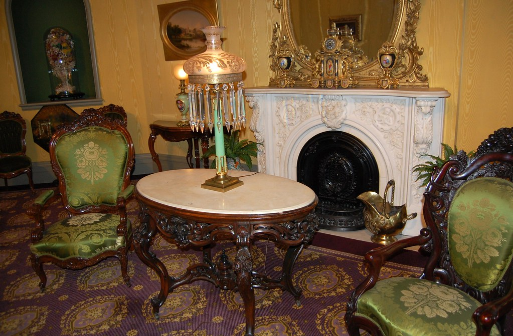 ... Fountain Elms   The Drawing Room / Parlor   By Dennieorson