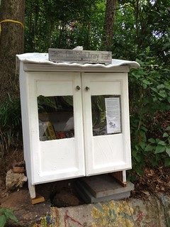 What a great idea! Take a book, share a book or give a book! www.littlefreelibrary.org | by Peter Fasano