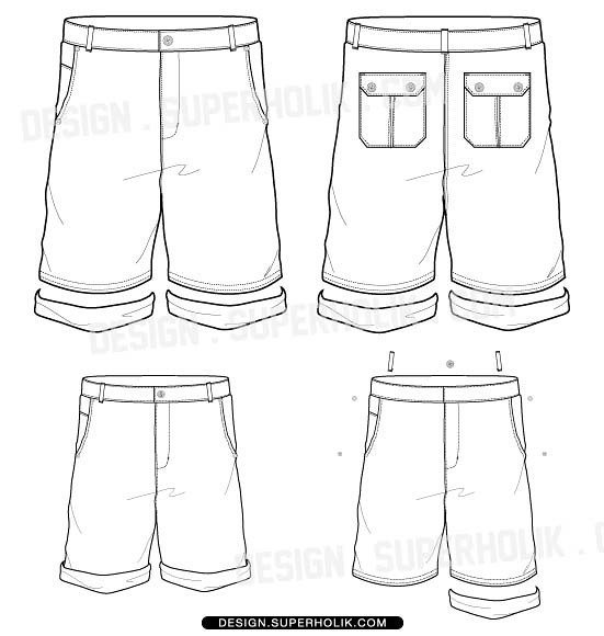 short pants template by superholik short pants template by superholik