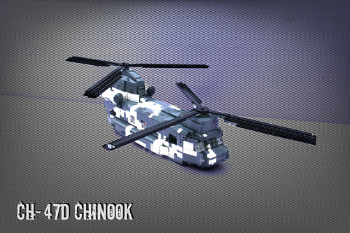Lego CH-47D Chinook | by [Stijn Oom]