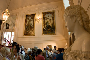 Visitors on a tour of the Royal Opera House © Pete Le May/ROH 2012 | by Royal Opera House Covent Garden
