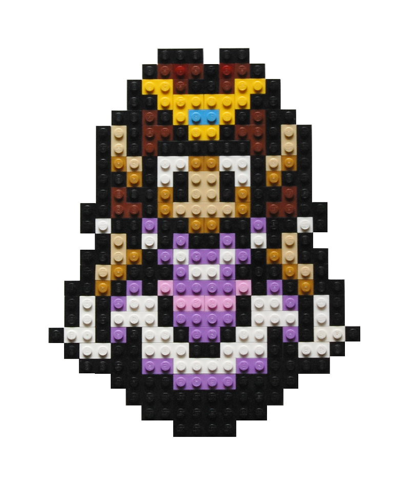 The Pixel of Zelda: the Princess