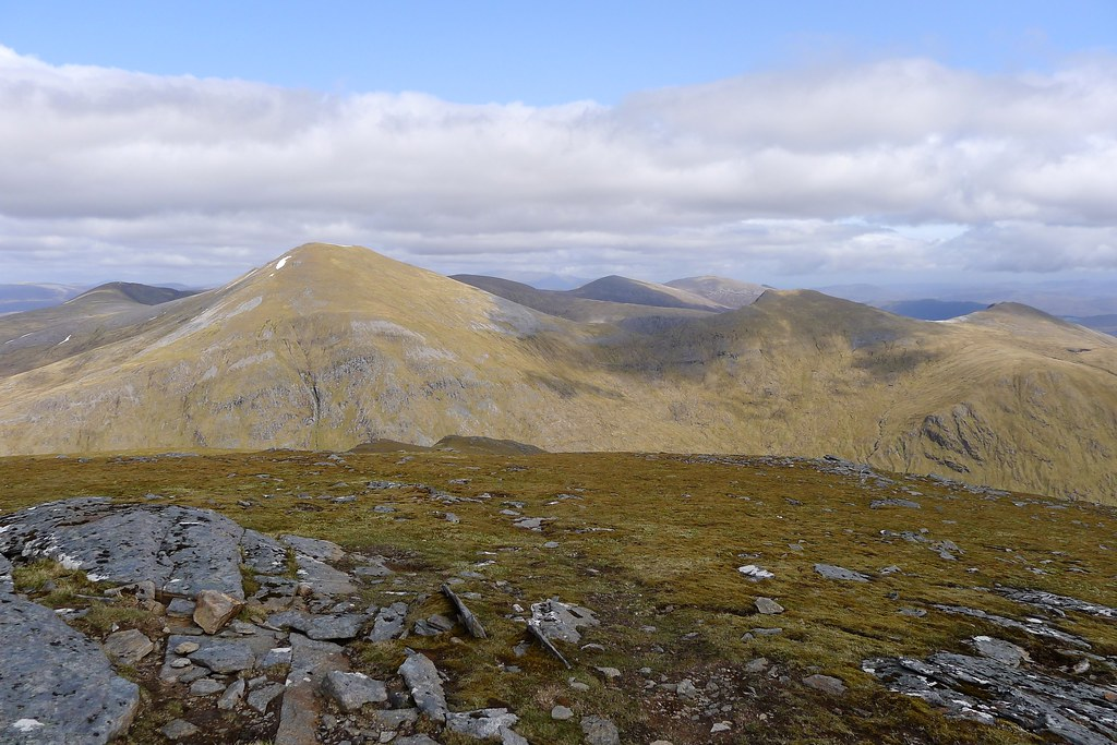 The Fannaichs from Sgurr Breac