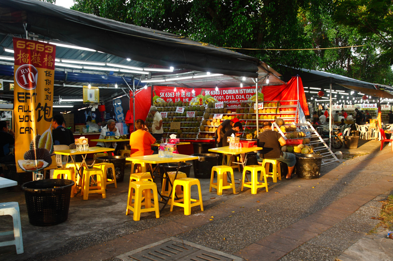 SK6363 Durian Stall Kepong Baru