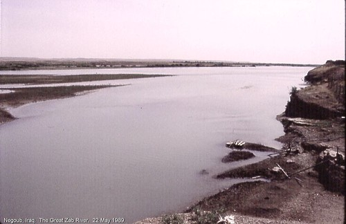 Negoub, Iraq.  The Great Zab River.  22 May 1989. | by StevanB