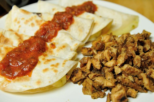 Quesadillas with Pollo Asado | by Mike Saechang