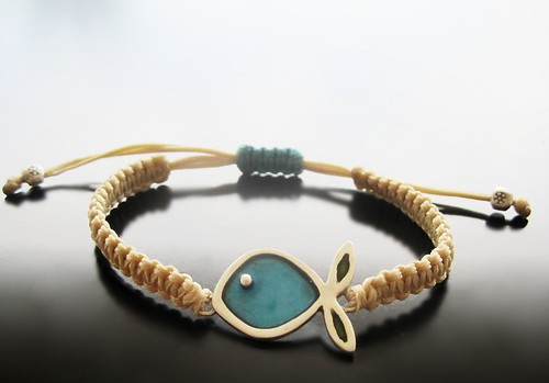 FAM 2/May Fish bracelet | by Maria Apostolou