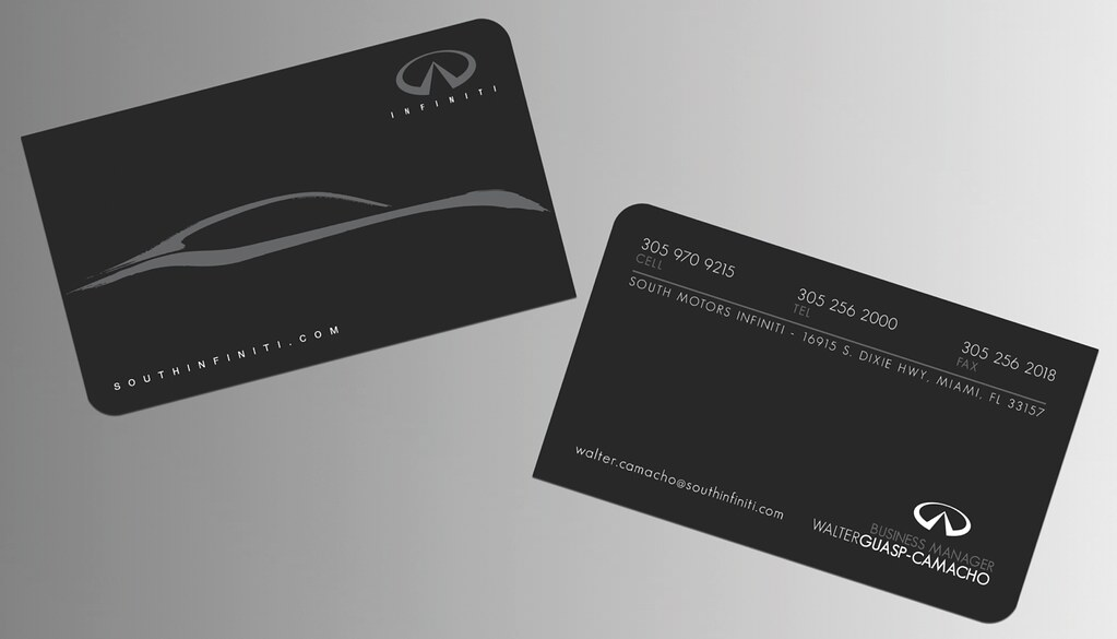 South Motors Infiniti Business Cards | DBL MEDIA | Flickr