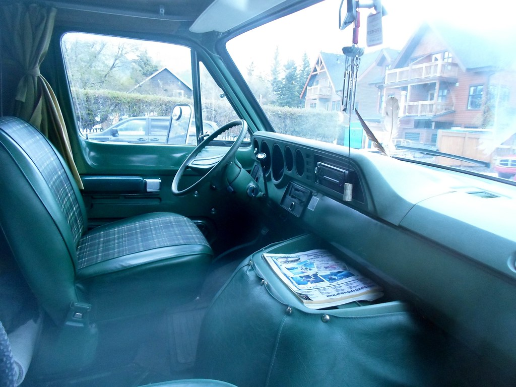 1978 Dodge Tradesman Camper Van Interior