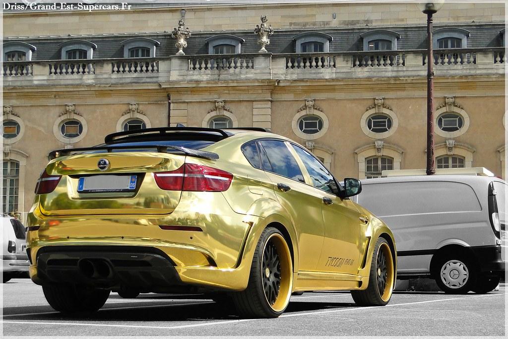 Bmw X6 Hamann Tycoon Evo M Gold In Nancy G E Supercars Flickr