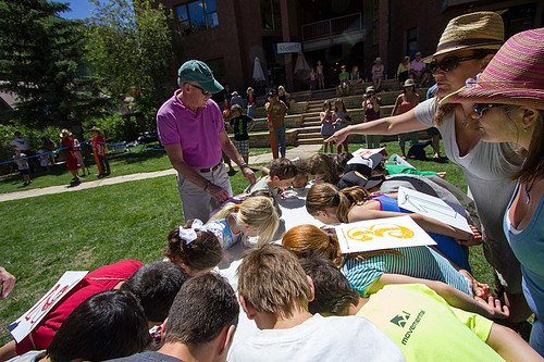 Pie Eating Contest at the Telluride Heritage Festival | by VisitTelluride.com
