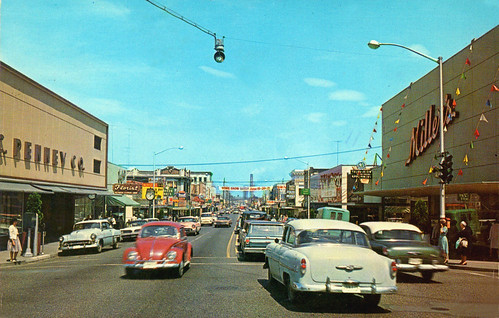 olympia washington street scene 1960s | by it's better than bad