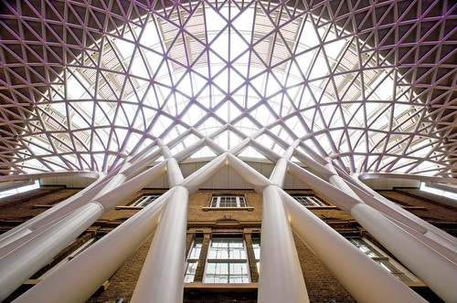 UK - London - Kings Cross - Looking up | by Darrell Godliman