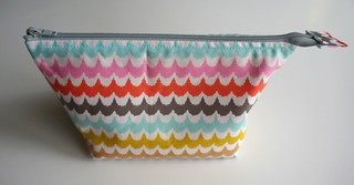 Open Wide Zippered Pouch | by jenniferworthen