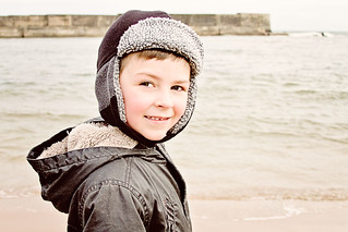 Son at Collieston (Paint the Moon actions) | by Greig Reid