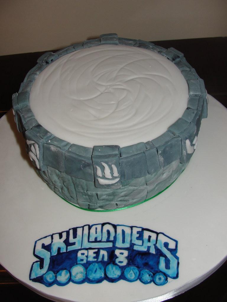 Skylanders Portal Of Power Birthday Cake Anges Cakes