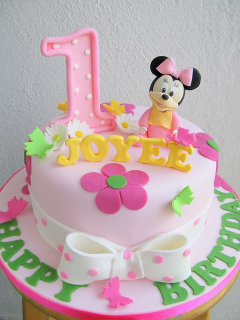 Joyees baby minnie mouse cake Joanne Fam Flickr