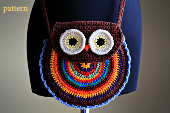 Crochet Owl Purse Pattern Etsylisting90150191 Flickr