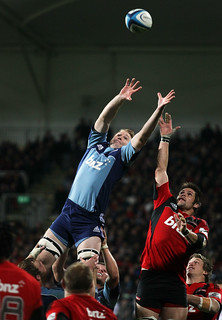 Cam Goodhue competes for the lineout ball.jpg | by The Blues Rugby