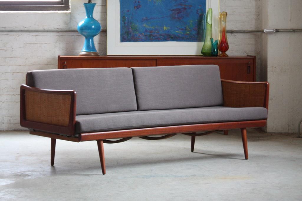 Genial ... 1960s Satisfying Danish Mid Century Modern Teak Peter Hvidt Sofa For  John Stuart (Denmark, 1960s