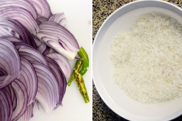 Ghee Rice Recipe - Step1