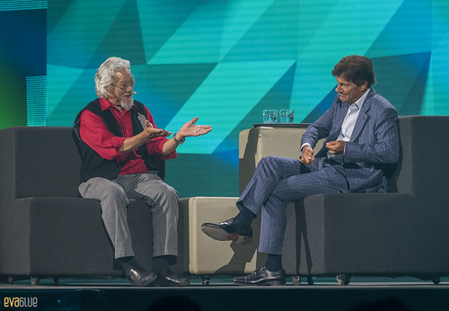 David Suzuki Stephen Bronfman C2 Montreal Day 1 - 91 | by Eva Blue