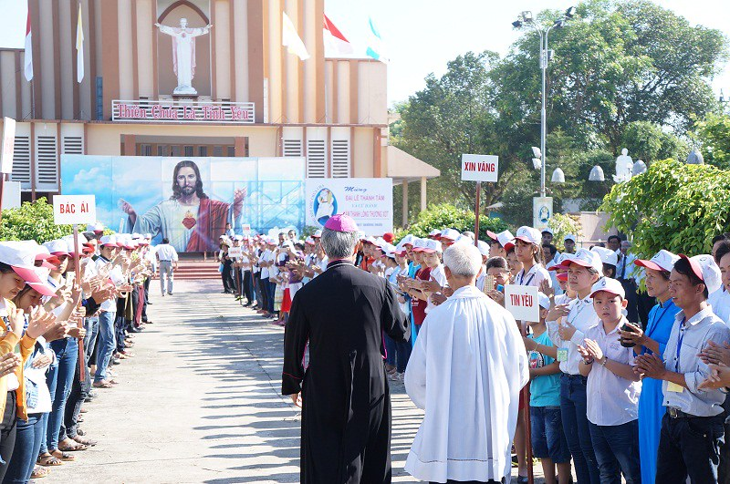 Đại lễ Thánh Tâm tại Quảng Ngãi