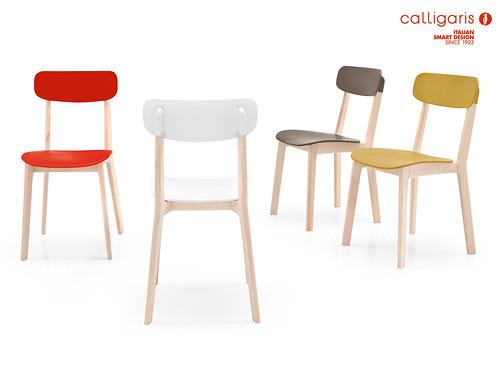 Sedie in legno da cucina wooden chairs nella foto la - Sedie da cucina calligaris ...