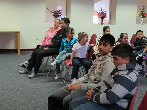 Julie Pasqual at North End Branch Library on April 11, 2012 | by Newark Public Library - NJ