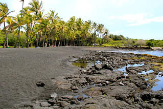 Lava rocks beach shore | by daveynin