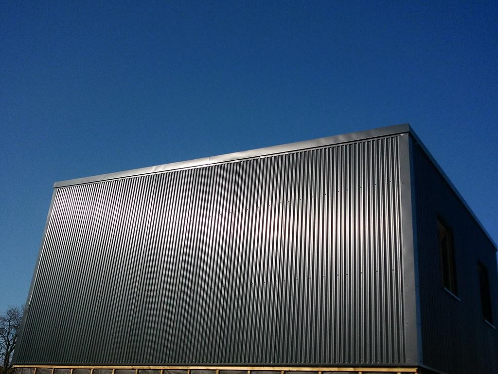 Bel-Air Pose bardage métal RAL 7016 (Gris anthracite) | Flickr
