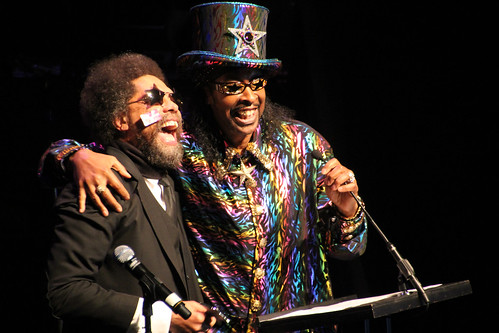 Cornel West & Bootsy Collins | by Explorations Media, LLC