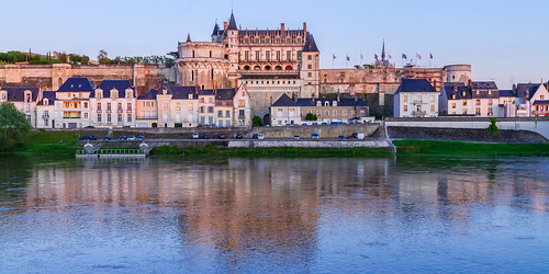 Amboise Castle Sunset | by blieusong