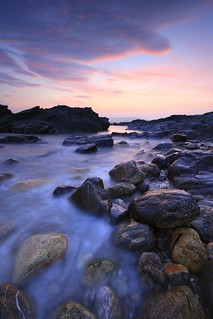 Dusk - South Hams Coastline (Devon) | by markgeorgephotography.co.uk